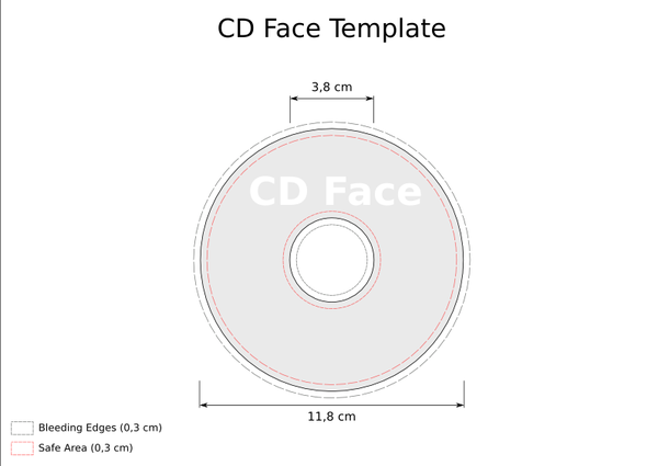 CD Template - CD Face